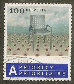Switzerland Scott 1170 Chair Used