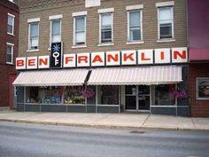 Ben Franklin stores