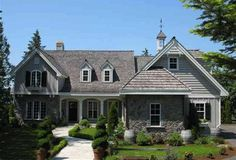 Browse nearly ready-made house plans to find your dream home today. Floor plans can be easily modified by our in-house designers. French Country House Plans, European House Plans, French Cottage, English Country Cottages, European Plan, Country French, Cottage House Plans, Cottage Homes, Basement House Plans