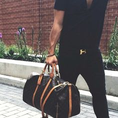 Black Attire -Hermes -Louis Vuitton