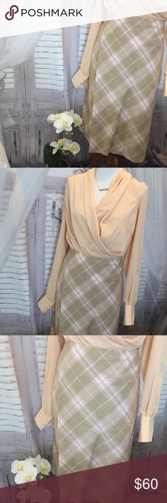 Burberry Skirt Size 4 In perfect shape, used only a handful of times. Elegant, feminine, posh, timeless and so High end!  TOP NOT INCLUDED! Burberry Skirts Midi