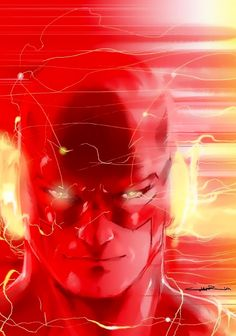 Awesome Art Picks: Spoiler, Flash, Silver Surfer, and Dc Heroes, Comic Book Heroes, Comic Books Art, Comic Art, Book Art, Marvel Comics, Arte Dc Comics, Kid Flash, Flash Art