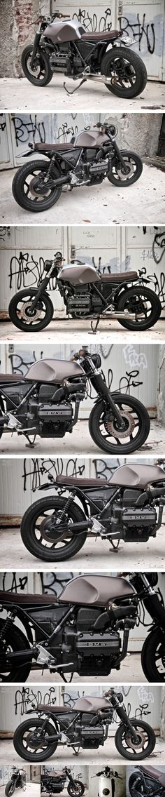 Custom BMW K75 par Sumisura - Journal du Design