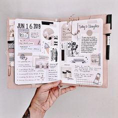 Magic Morning pages ⭐️💕 wishing everyone a fabulous week filled with lots of laughter and fun! Bullet Journal Notebook, Bullet Journal School, Bullet Journal Inspo, Bullet Journal Ideas Pages, Art Journal Pages, Bullet Journals, Scrapbook Journal, Journal Layout, Morning Pages