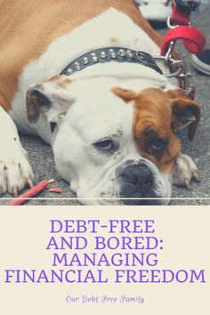 Even though financial freedom is a spectacular reward, many people find themselves debt-free and bored. Debt Free Living, Get Out Of Debt, Free Tips, Debt Payoff, Personal Finance, Freedom, People, Liberty, Political Freedom