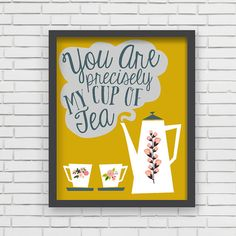You really are. (Yes, you.) :: Wall Art by LucyDarlingPrints