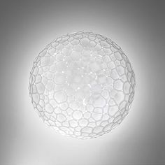 Artemide Meteorite Ceiling/Wall Light by Pio & Tito Toso - - Size: Large - Style: Art Glass Office Ceiling, Wall Lights, Ceiling Lights, Art Of Glass, Halogen Lamp, Glass Diffuser, Hudson Valley Lighting, Visual Comfort, Design Studio