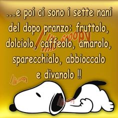 I sette nani Funny Images, Funny Photos, Snoopy Images, Peanuts Snoopy, Jokes Quotes, Funny Pins, Really Funny, Vignettes, Life Lessons