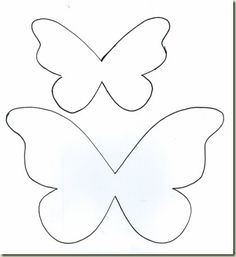 Origami Butterfly, Butterfly Template, Butterfly Crafts, Flower Template, Mariposa Butterfly, Crown Template, Butterfly Mobile, Heart Template, Diy And Crafts
