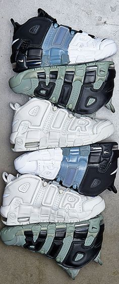 uk availability f022b 51113 Kids  Nike Air More Uptempo. Available in 10 colors now!