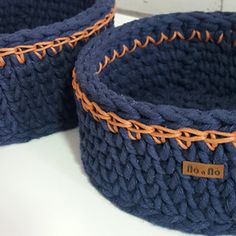Chunky Crochet Basket [Free Pattern] | Styles Idea                              …