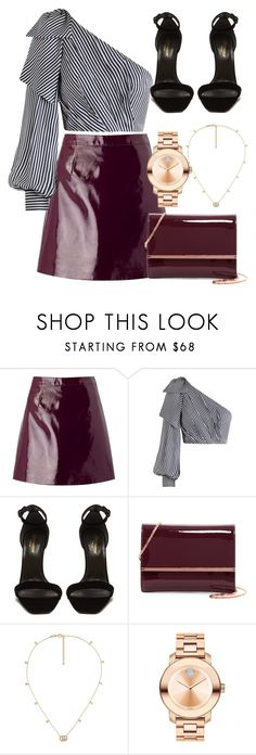 """""""Untitled #799"""" by victoriaam99 ❤ liked on Polyvore featuring Miss Selfridge, Zimmermann, Yves Saint Laurent, Ted Baker, Gucci and Movado"""