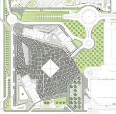 Image 18 of 24 from gallery of Gino Valle Square / Valle Architetti Associati. Site Plan