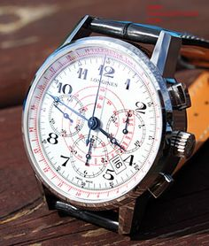 The Longines Telemeter Chronograph #luxurywatch #Longines-swiss Longines Swiss Watchmakers watches #horlogerie @calibrelondon