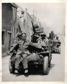 Soldado alemán capturado en St. Mere Eglise, 1944.