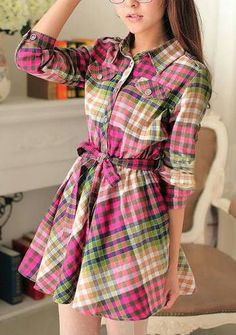Vestido xadrez de festa junina