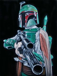 He's no good to me dead by BruceWhite - art - #StarWars #Art #BobaFett