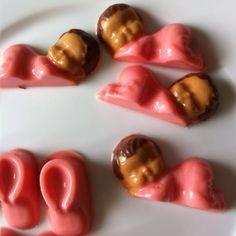 Baby shower chocolate lollipops !