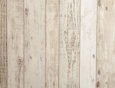 Tapete Vlies Holz beige