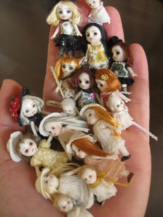 Wonderful miniature art dolls by Milon Matsubara
