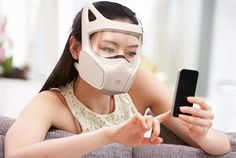 The Social Gas Mask by Zlil Lazarovich. Too Sexy ! I wonder if they come in other colors, so I can match my shoes.