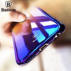 BASEUS - AURORA GRADIENT TRANSPARENT CASE FOR IPHONE