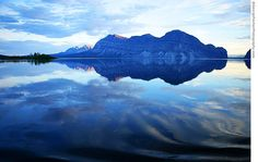 Wouldn't you love to retire here? Little Doctor Lake near Nahanni National Park  Photo by George Fischer