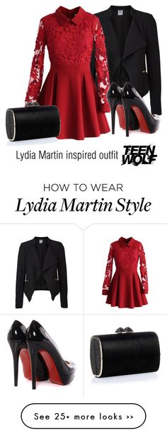 """""""Lydia Martin inspired outfitúTeen Wolf"""" by tvdsarahmichele on Polyvore"""