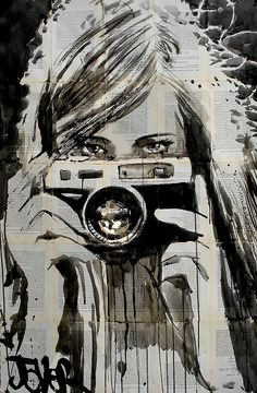 """""""shutterbug"""" Greeting Cards by Loui Jover 