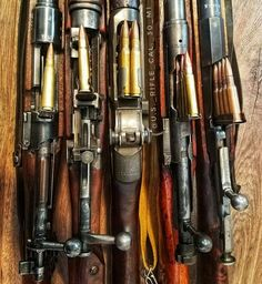 These old rifles are beautifully machined and simple. Highly efficient in adverse environments, rain, mud, snow, dry and arid combat conditions.