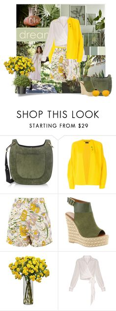 """Last summer outfit"" by starz2010 ❤ liked on Polyvore featuring Jason Wu, Oyuna, Glamorous, Mojo Moxy, Linda Farrow and National Tree Company"