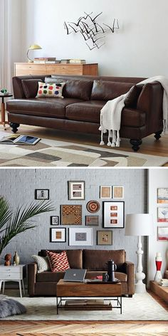 Living Room Decor Brown Couch chocolate brown furniture decorating ideas | simple details