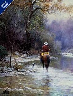"""Creek Bottom"" by Martin Grelle"