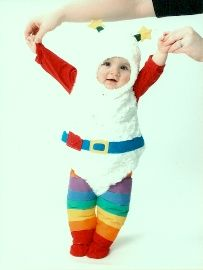 rainbow brite costume - i would cry with laughter seeing beefy in this!!