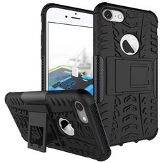 Fashion Fall Resistant Mobile Phone Bag for iPhone 6 6s 7 Plus Case Silicon Shockproof Cover for iPhone 6 6s 7 Cover Stand Funda