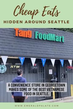 A local shares all the hidden restaurants to get the best cheap eats in Seattle. If you're looking for cheap things to do in Seattle, there's no better way to spend it than eating at casual restaurants hidden around the city!