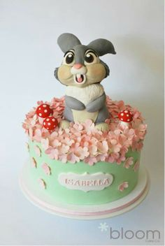 Gorgeous Thumper cake ♥