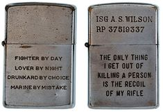 soldiers engraved zippo lighters from the vietnam war