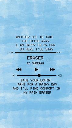 42 Trendy Quotes Lyrics Songs Ed Sheeran Art Music Ed, Music Lyrics, 5sos Lyrics, Lyric Quotes, Funny Quotes, Art Quotes, Shape Of You Ed, Ed Sheeran Lyrics, Song Lyrics Wallpaper