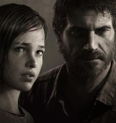 Ellie & Joel - The Last of Us - Still can't believe how realistic they can render 3d art sometimes