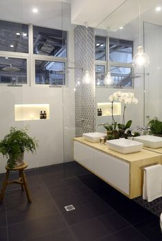 The Block Glasshouse: Apartment No. 6 - Like full size mirror for wall and tiles