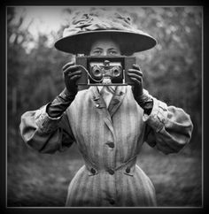 Edwardian Camera by Hilda Thorsen on Etsy
