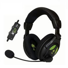 Turtle Beach - Ear Force Amplified Stereo Gaming Headset - Xbox 360 - Online Shopping in Pakistan: Electronics Xbox 360 Headset, Playstation, Best Gaming Headset, Gaming Headphones, Headphones Online, Ear Headphones, Turtle Beach, Black Xbox, Nintendo
