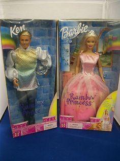 1999 Rainbow Princess and Rainbow Prince Barbie and Ken Dolls   eBay