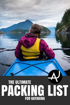 Kayak Gear List - Best Kayaking Gear Articles – Kayak Accessories and Gadgets – Kayak Products and Ideas for Men and Women – Packing Lists for Kayaking Trips via The Adventure Junkies Camping En Kayak, Kayak Fishing Tips, Kayaking Tips, Best Fishing, Camping Gear, Camping List, Camping Hacks, Diy Camping, Outdoor Camping