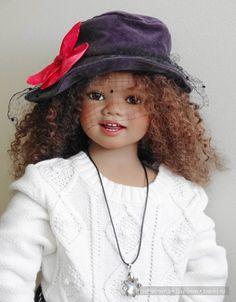 Модницы Сини (Sini) и Токи (Toki) от Annette Himstedt / Коллекционные куклы Annette Himstedt / Бэйбики. Куклы фото. Одежда для кукол