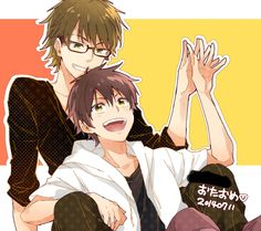 Fanart of MiyukixSawamura pair, lots of people ship it and so do I. But I am also fine with ChrisxSawamura pair too!