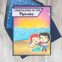 Check out my blog for more details on how I made this card!