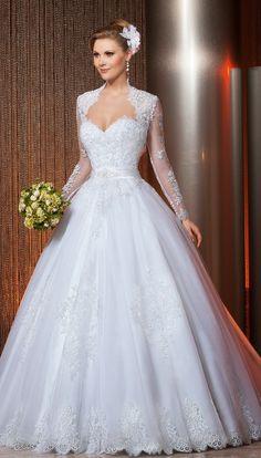 traditional style wedding dress, Via Sposa
