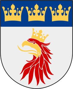 coat of Arms of Malmohus county, Sweden